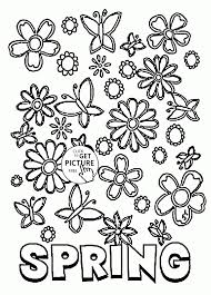 printable spring flowers unique free printable spring coloring pages advance thun com
