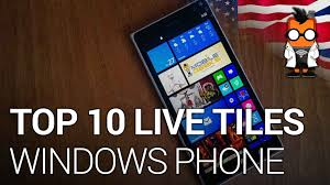 live themes for lumia 535 top 10 windows phone live tiles youtube