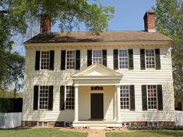 revival house colonial revival house colors house style and plans