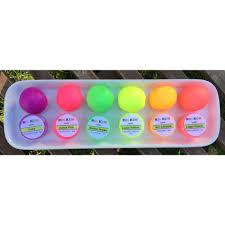 glow in the set of 8 neon lumo luminosity glow in the edible paints