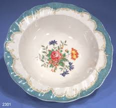 Vintage China Patterns by Royal Doulton Kingswood Vintage Fruit Bowl Serving Dish Pattern