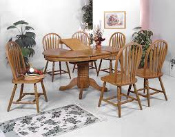 dining room furniture deals solid oak dining table arrowback chair set eci furniture cheap