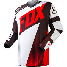 cheap kids motocross helmets apparel fox racing off road jerseys kids boys 180 vandal red jpg