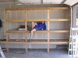 diy garage shelves for your inspiration just craft u0026 diy projects