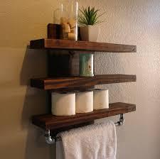 Rustic Industrial Bathroom by Modern Rustic Mail Organizer With Shelf Rustic Modern