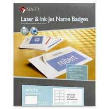 maco laser and inkjet labels template 28 images 2 quot x 4