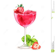 cocktail illustration cocktail watercolor illustration stock illustration image 69353711