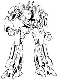 transformers color cartoon characters coloring pages color