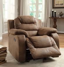 homelegance hoyt reclining sofa set brown microfiber u9618 3