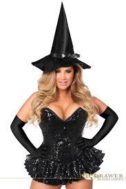 size sequin witch corset steel boned corset dress costume