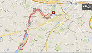 Back Bay Boston Map by Great Runs In Boston U2013 Great Runs U2013 Medium
