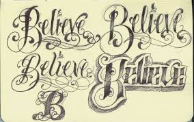 artistic examples of english tattoo fonts cute tattoo design