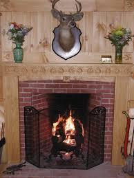 interior vintage fireplace mantel kits decor for your vintage