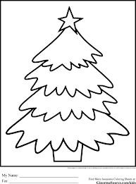 christmas tree drawing for kids cheminee website