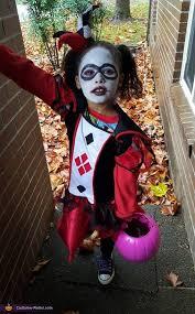 Joker Kids Halloween Costume Joker Harley Quinn Kids Costume Photo 6 7