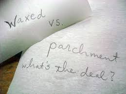 parchment writing paper waxing or waning how can i use waxed paper in baking