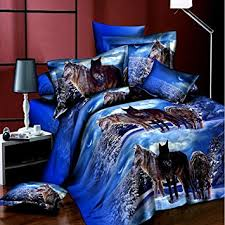 Wolf Bedding Set Wolf Bedding Set Size Wolf Print Bedding Set