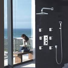 Shower Head In Ceiling by Fontana Wall Ceiling Shower Head Shower Body Jets Hand Shower With