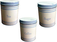 metal kitchen canisters unbranded metal kitchen canisters jars ebay
