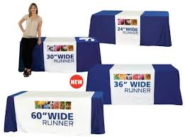 trade show table runner tierneybrothers orbus table runner 30 tblt r 30 f