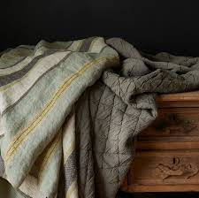 traditions linens camp u0026 lindsey linen blanket throw collection