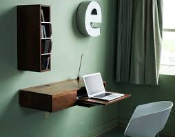 Wall Desk Folding by Fold Down Slide Up Simple Wall Mounted Wood Mini Desk