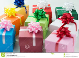 wrapped gift boxes various colour gift boxes stock photo image of 34637708
