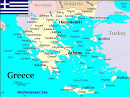 blank map of ancient greece search results greece map