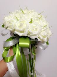 cheap flower delivery 20 cheap beautiful bridal holding flowers artificial roses
