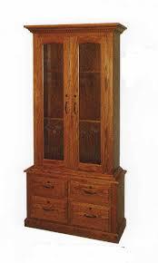 amish made custom gun cabinets the wood loft amish custom made