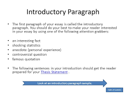 How To Use TEEL  Introduction Paragraph     Paragraph   T E L     First sentence of a persuasive essay   First sentence of a persuasive essay  First sentence of a persuasive essay   First sentence of a persuasive essay