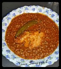 comment cuisiner des lentilles en boite lentilles en sauce tunisienne la cuisine gourmande d umm sumayyah