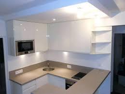 plan de travail cuisine blanc laqué cuisine blanc laque et bois image cuisine cuisine blanc laque plan