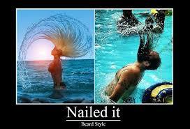 Hair Flip Meme - nailed it meme 006 water hair flip comics and memes