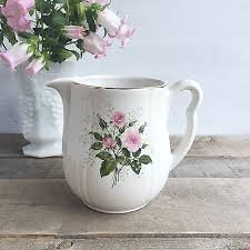 pitcher of roses s superior quality kitchenware pitcher pink roses 4 18