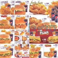 Kfc With Buffet by ᐅ Kfc Menu Prices ᐊ 2017 Price List Nutrition U0026 Coupons