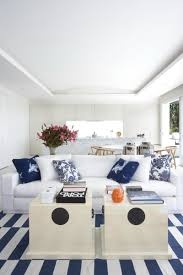 Beach Homes Decor by Spotted From The Crow U0027s Nest Beach House Tour Hamptons Modern