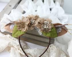 fawn headband fawn headband etsy
