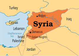 map of syria map of syria major tourist attractions maps