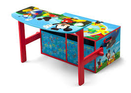 mickey mouse end table mickey mouse 3 in 1 storage bench and desk delta children eu pim