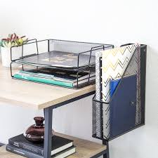 Organizer Desk U Brands Hanging File Desk Organizer Wire Metal