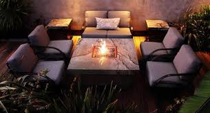 Firepit Patio Table by Modern Patio Table With Firepit Gas Find An Attractive Patio