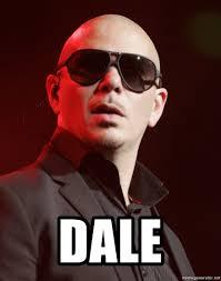 Pitbull Meme Dale - dale knowledgeable pitbull meme generator
