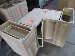 unfinished corner base kitchen cabinet kitchen corner base cabinet w lazy susan unfinished poplar shaker style