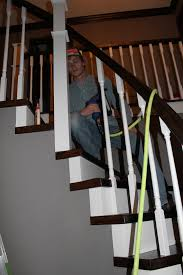 Banister Rail And Spindles Remodelaholic Curved Staircase Remodel With New Handrail