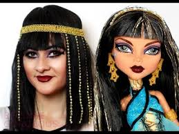 cleo de nile makeup tutorial monster high doll