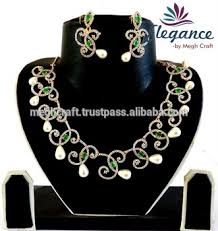 fashion jewelry necklace wholesale images Indian american diamond jewellery wholesale fashion jewelry indian jpg