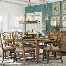 kitchen table large dining room table furniture bassett kitchen