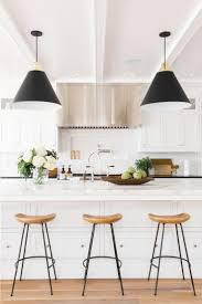 Pendant Bar Lighting by Furniture Modern Bar Stools With Metal Leg And Wood Top Also