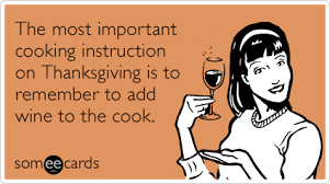 the most important cooking on thanksgiving is to